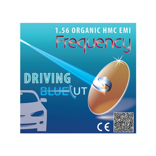 Frequency BlueCut 1.56 ASP HMC Driving