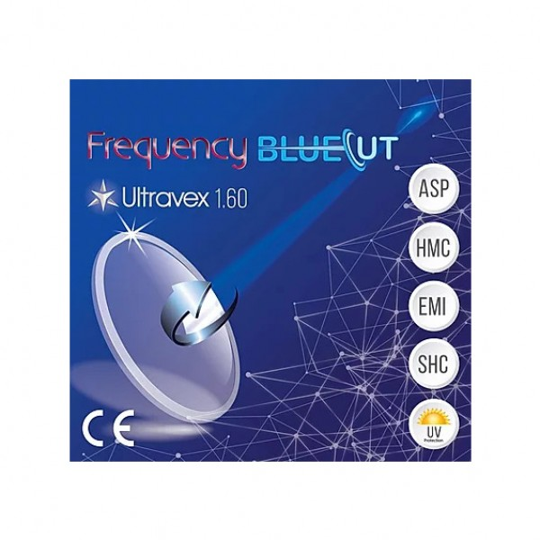 Frequency BlueCut 1.60 ASP SHMC Ultravex