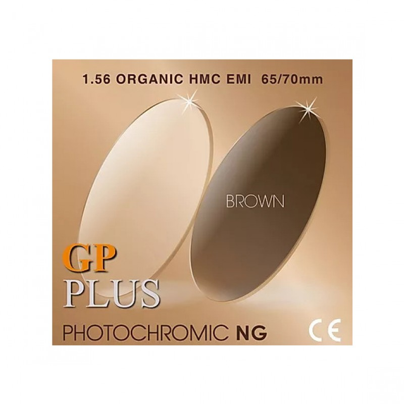 GP Plus 1.56 HMC Photochromic Brown