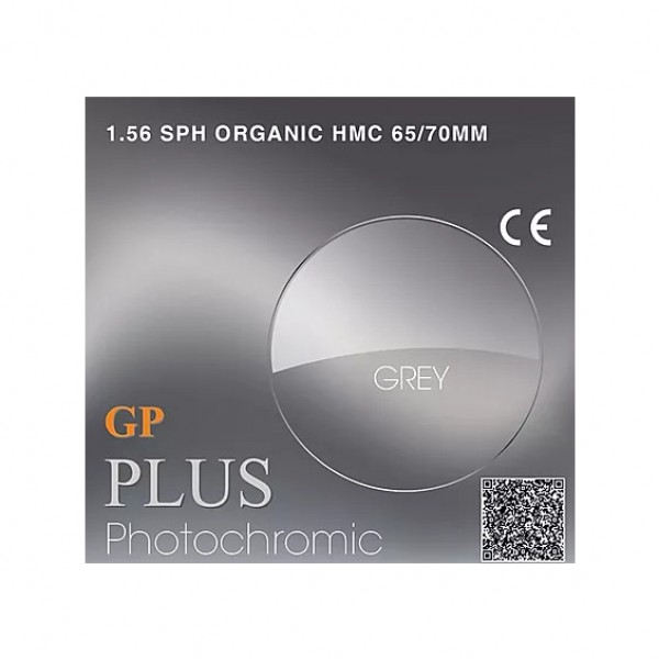 GP Plus 1.56 HMC Photochromic Grey