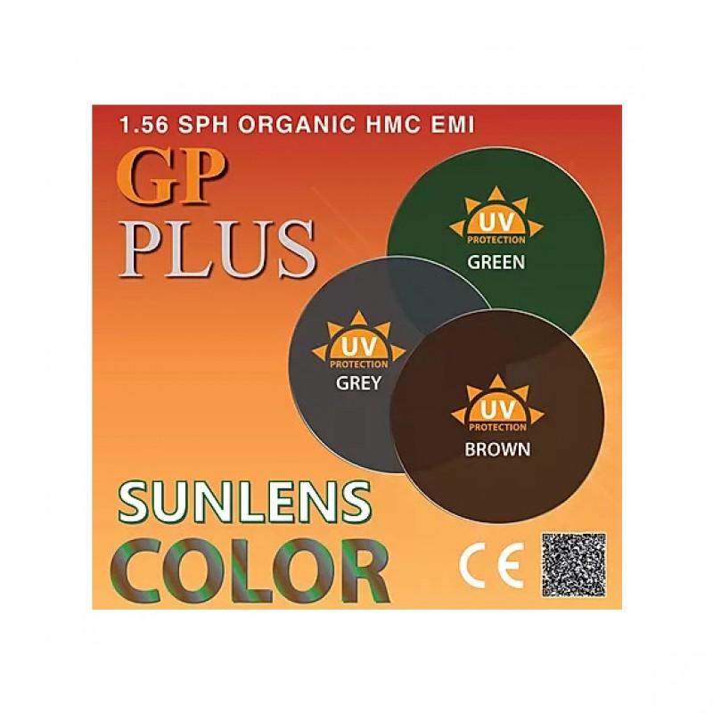 GP Plus 1.56 SPH SunLens Color HMC