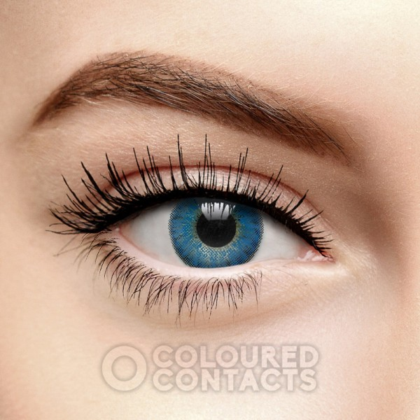 FRESHLOOK COLORBLENDS BRILLIANT BLUE COLOURED CONTACT LENSES