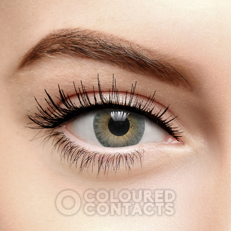 FRESHLOOK COLORBLENDS GREY COLOURED CONTACT LENSES